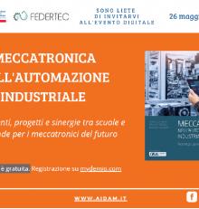 """Testo """"Meccatronica nell'automazione industriale"""""""