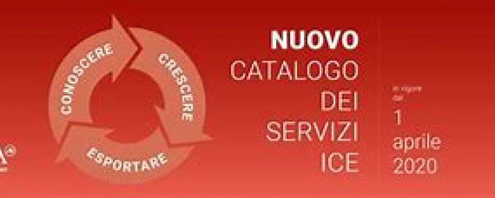 Nuovo catalogo dei servizi ICE