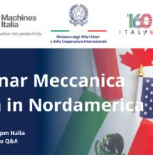 WEBINAR MECCANICA ITALIANA IN NORD AMERICA