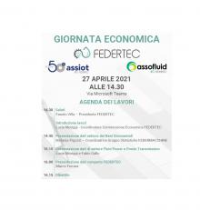 Giornata economica FEDERTEC – 27 aprile 2021