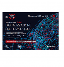 Digitalizzazione, sicurezza e cloud – We Love Talking SPS Italia – 23 novembre 2020