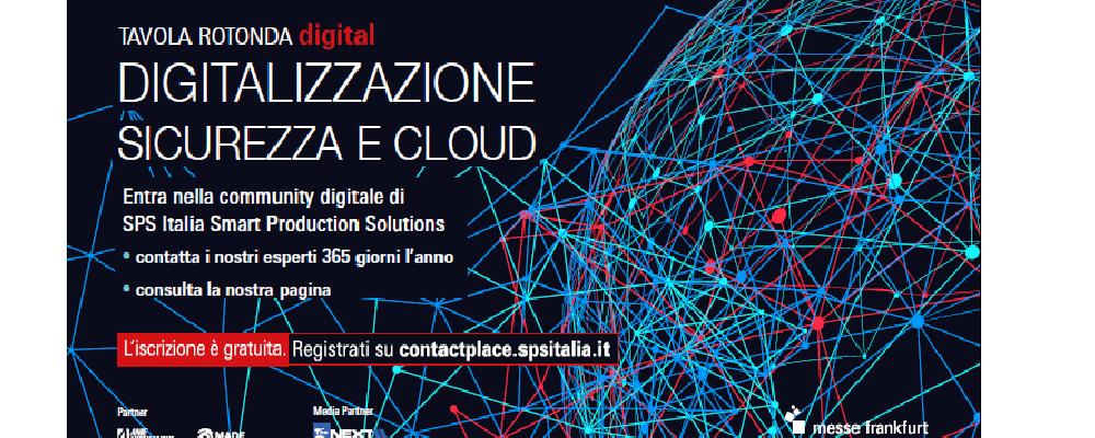 Digitalizzazione, sicurezza e cloud – We Love Talking SPS Italia – 23 novembre 2020